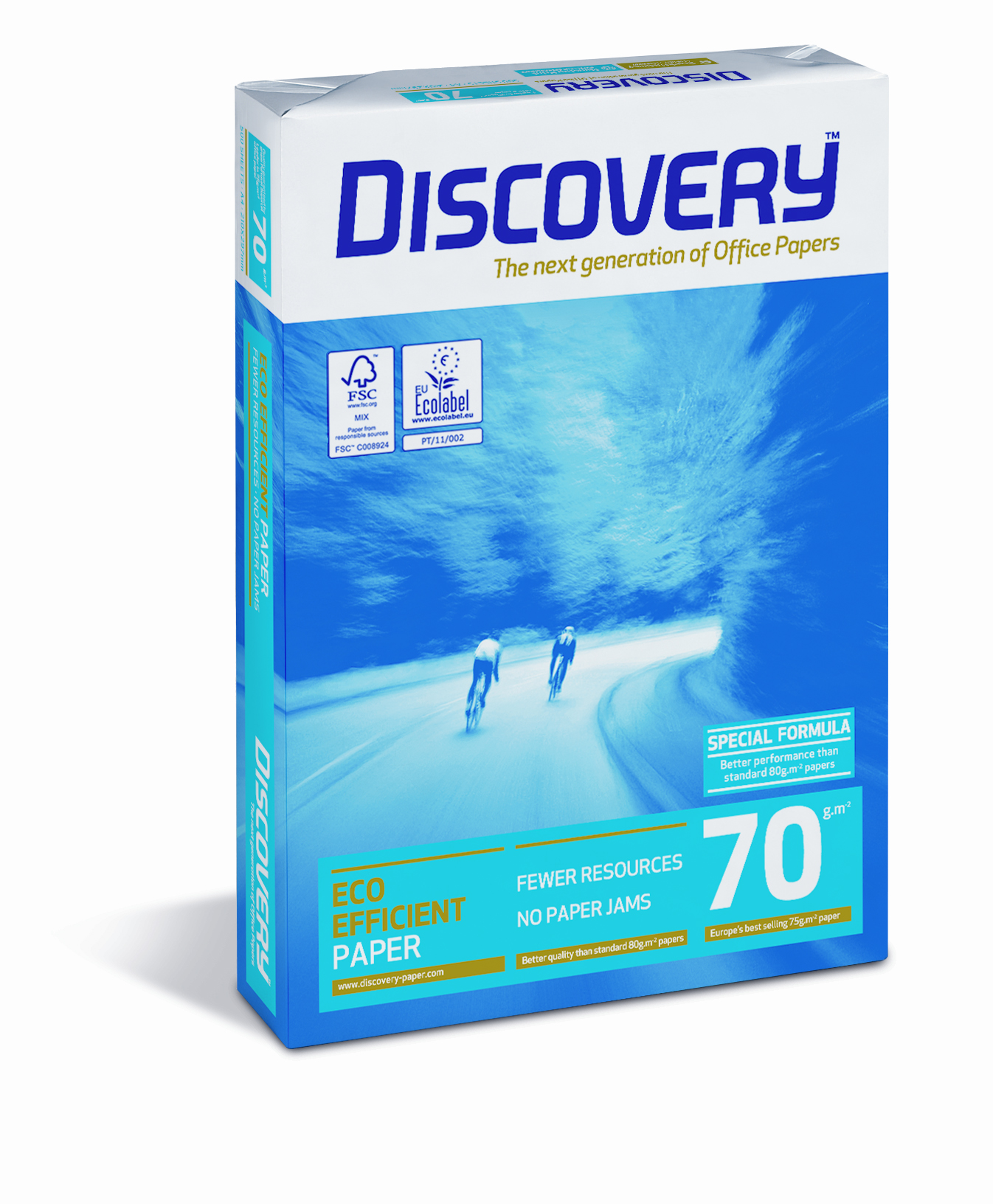 59908 Pack of 2500 Discovery A4 75gsm White Paper