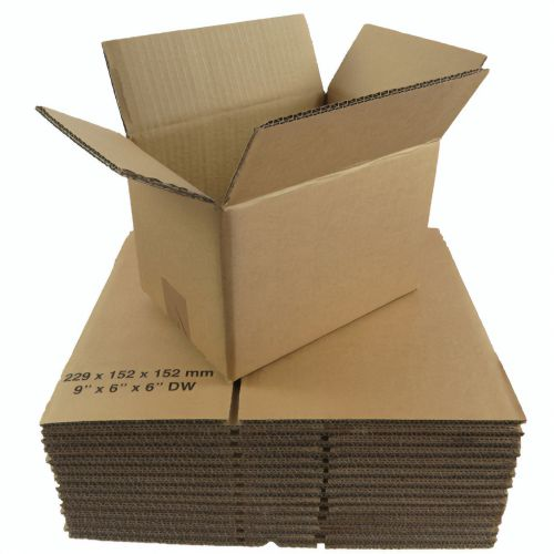 10x10x10in Double Wall Box 254mm x 254mm x 254mm (Pack 15) Code
