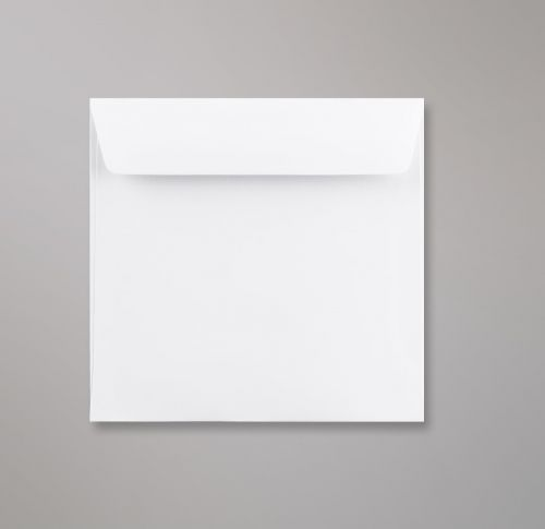 Wallet Peel & Seal Square Super White 120gsm 155 x 155mm No Opaque (Box 500) Code