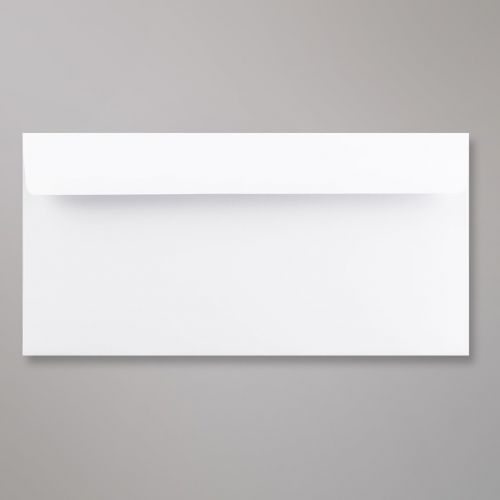 Wallet Peel & Seal DL Super White 120gsm 110 x 220mm No Opaque (Box 500) Code