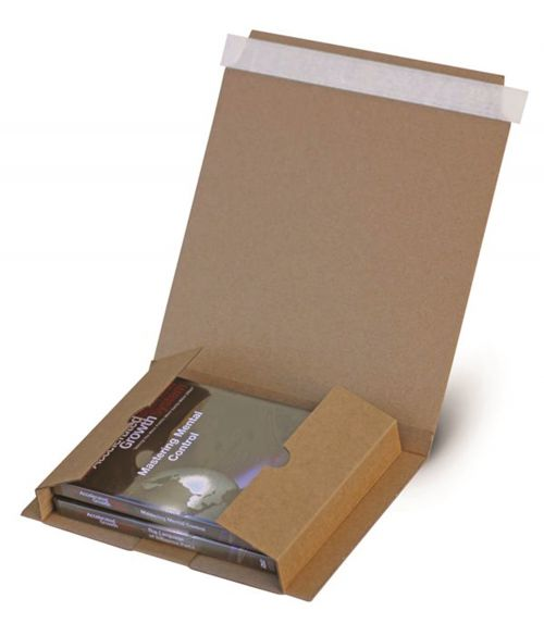 A5 Book Wrap 225mm x 155mm x 1-55mm (Pack 25) Code