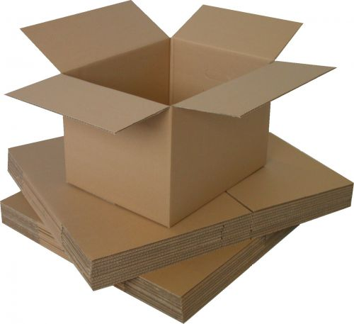 18x12x12in Single Wall Box 457mm x 305mm x 305mm (Pack 25) Code