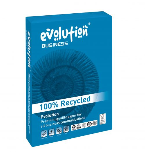 Evolution Business Paper FSC Recycled Ream-wrapped 80gsm A3 White Ref EVBU4280 [500 Sheets]