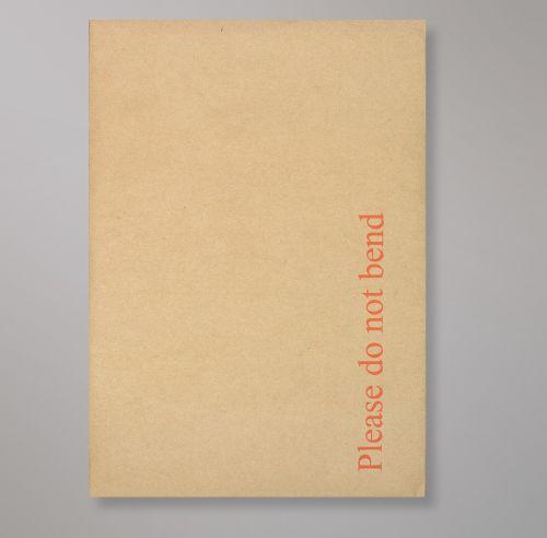 Pocket Peel & Seal C5+ Board Back 238 x 163mm Manilla 120gsm Paper 600gsm Grey Board Backed (Box 125) Code