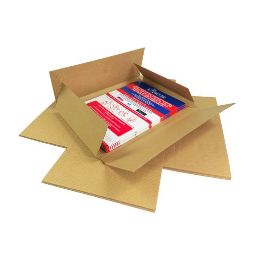 Postal Box C6 Maltese Cross Style 159mm x 110mm x 19mm (Pack 100) Code
