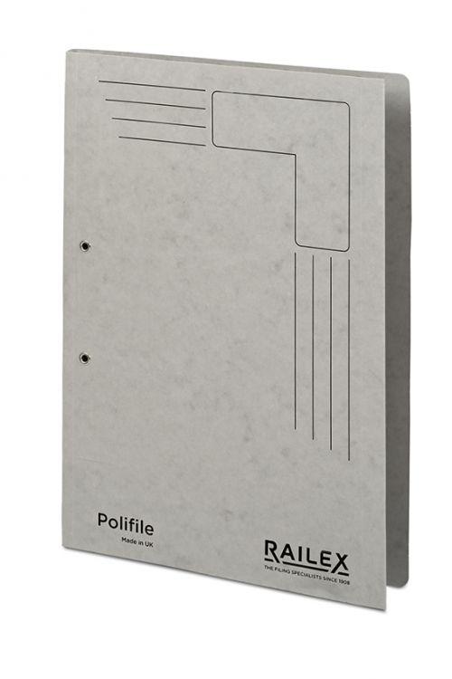 Railex Polifile PL5 Foolscap 350gsm Pearl PK25