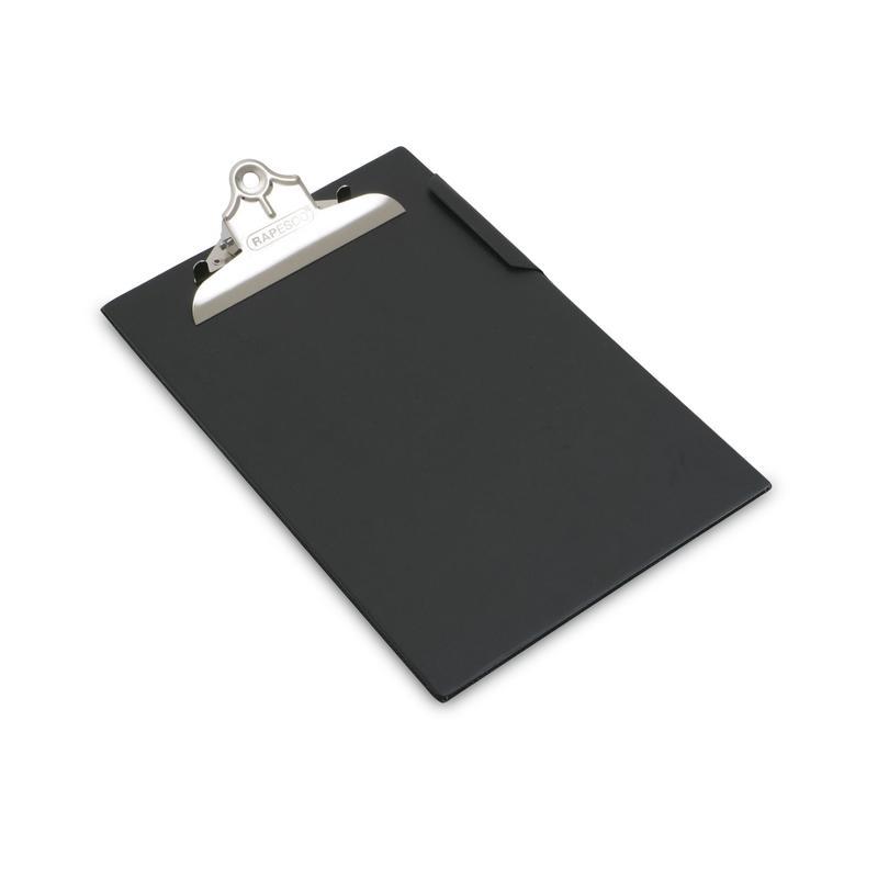 Clipboards Rapesco Heavy Duty Clipboard A4 black
