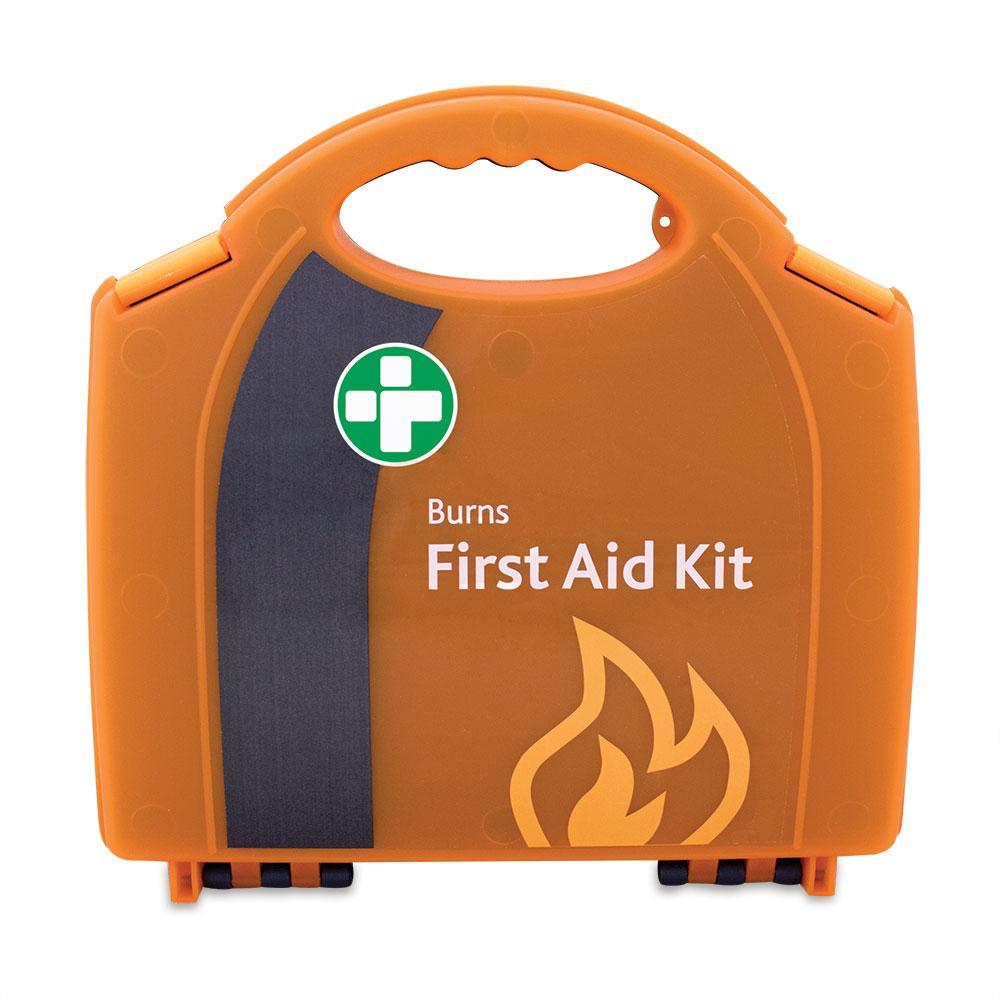 Reliance Burns Aid Kit Standard in Aura Carry Box Orange