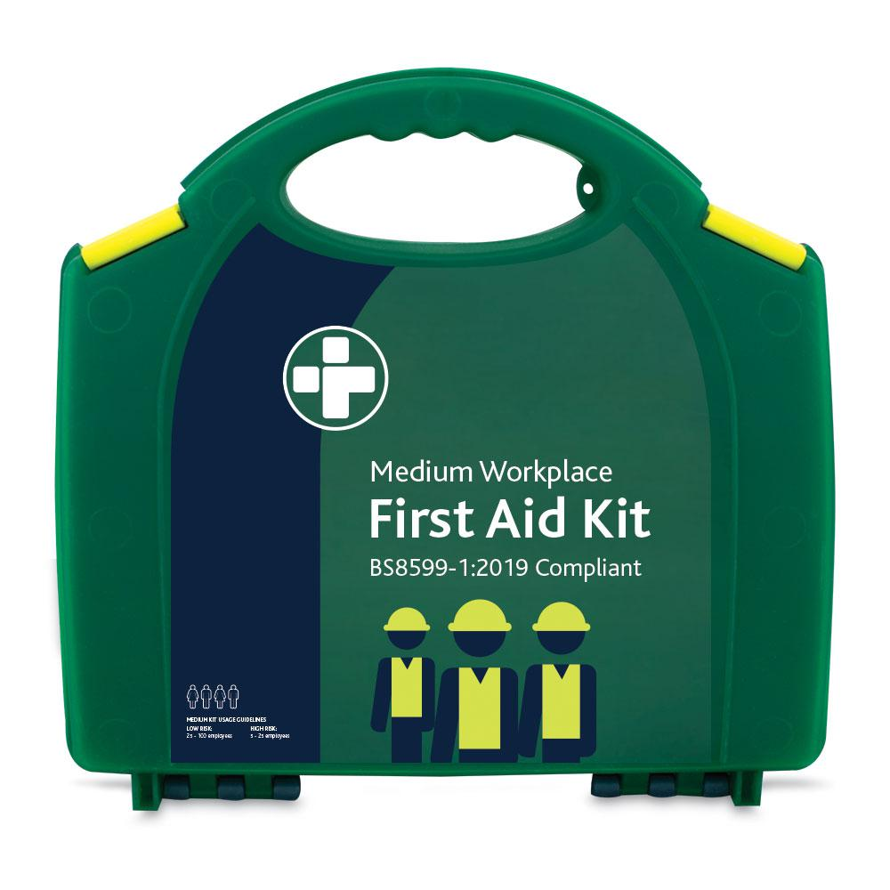 Reliance BS Medium First Aid Kit in Integral Aura Box