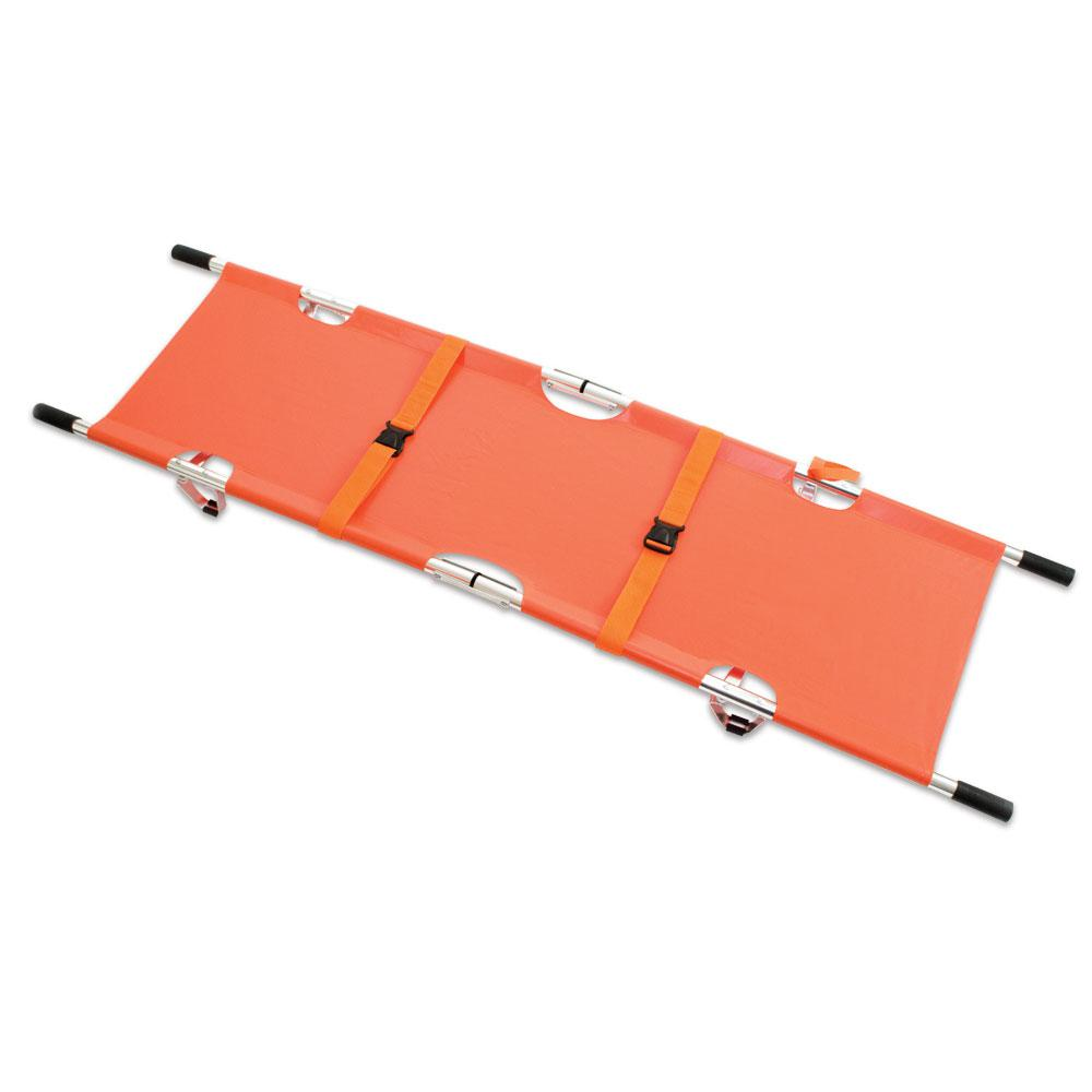 Reliance Relequip Stretcher (Orange) with Alu Alloy Frame