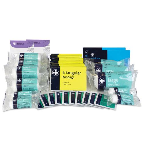 Reliance Medical HSE 20 Person First Aid Kit Refill
