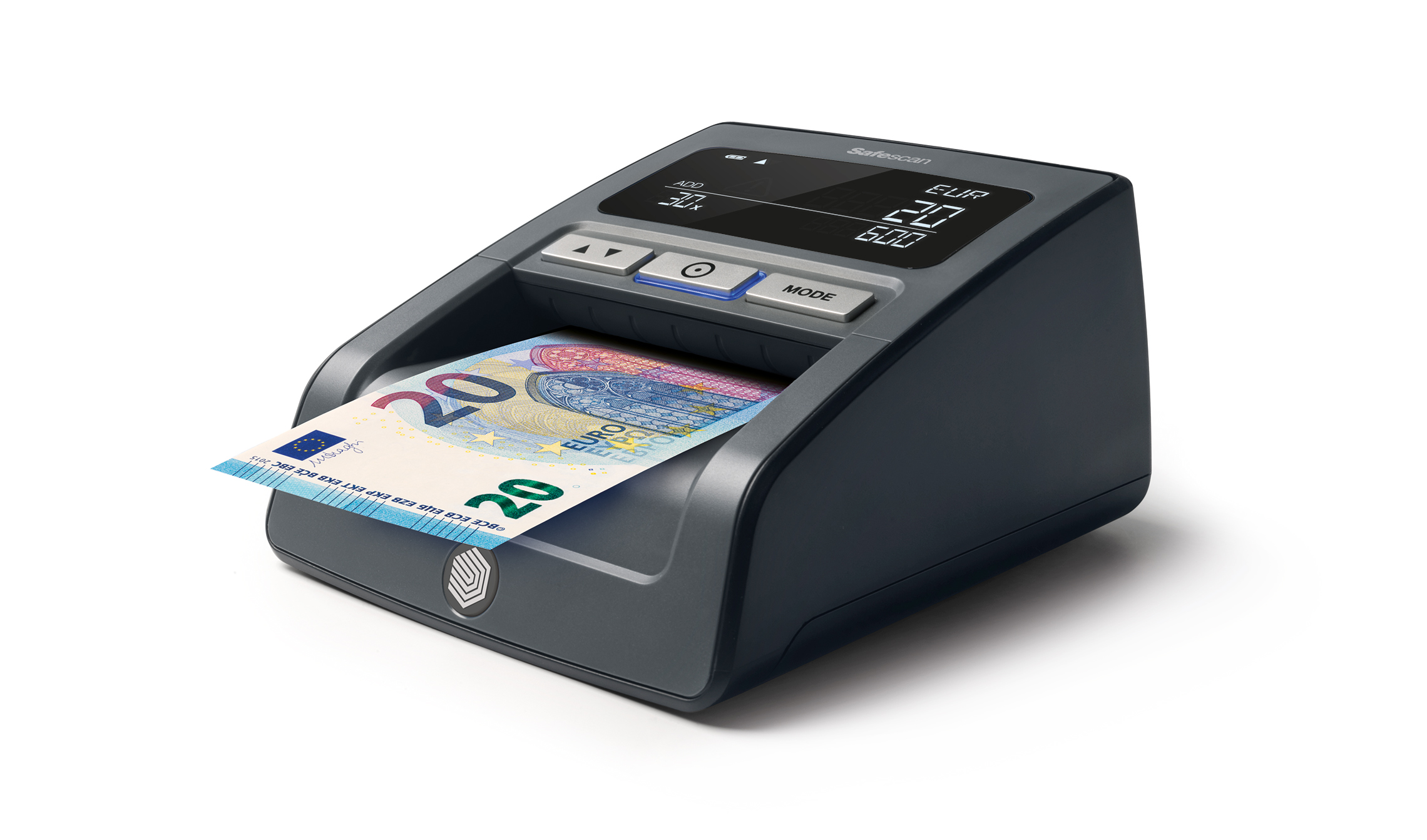 Safescan 155i Counterfeit Detector for 3 Currencies Black