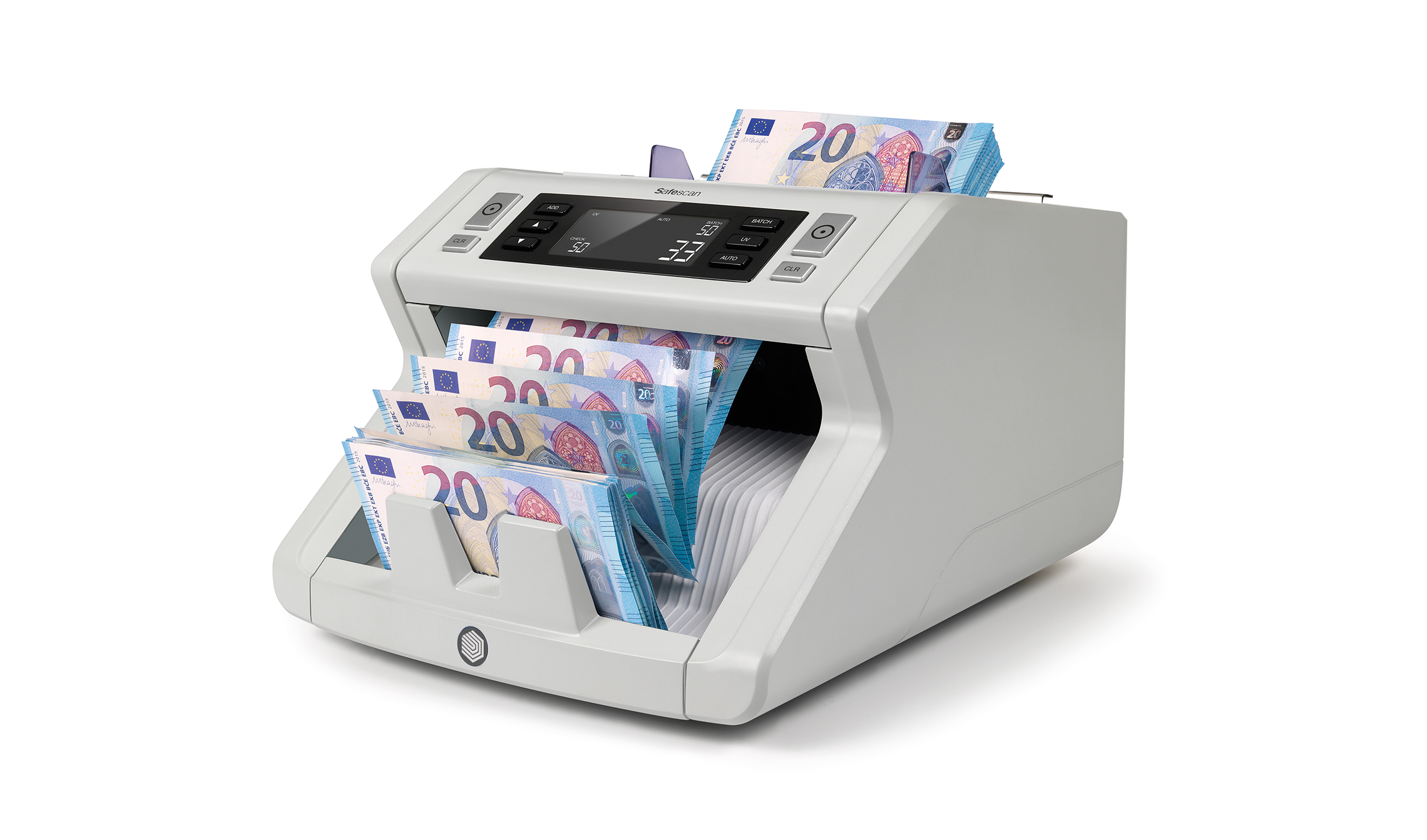 Safescan 2250 Banknote Counting Machine Automatic 1000 Notes/Minute 220V 7kg