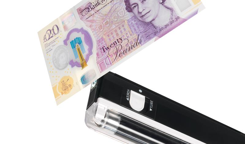 Carbon Monoxide Alarms Safescan 40H Counterfeit Detector Black