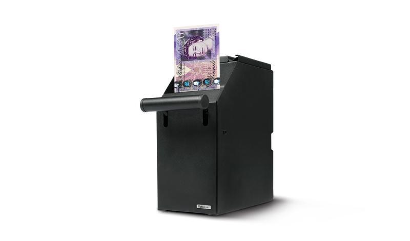 Safescan 4100 Cash Safe Black 121-0276