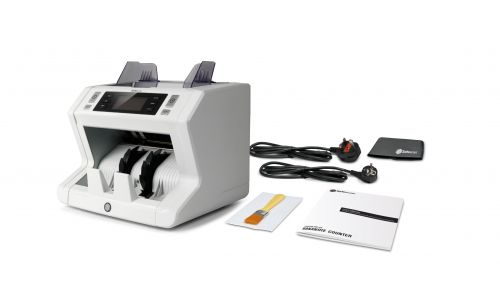 Safescan 2680 GBP Banknote Counter and Counterfeit Detector Grey Ref 112-0510