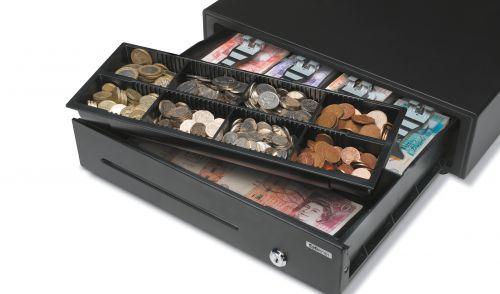 Safescan LD-4141 Cash Drawer Light Duty 5.5kg L410xW415xH115mm Black Ref 132-0423