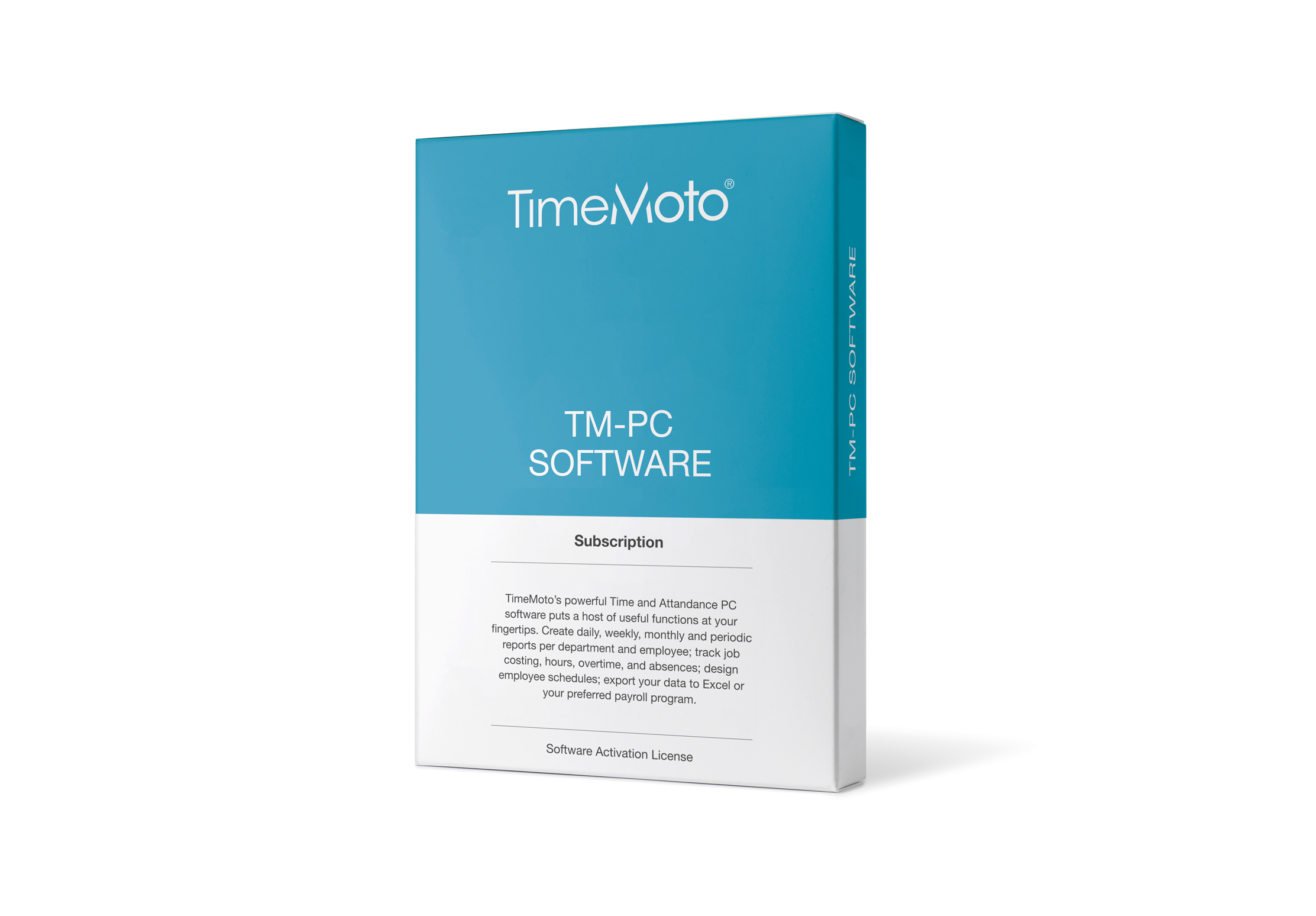Safescan TimeMoto TM PC Software
