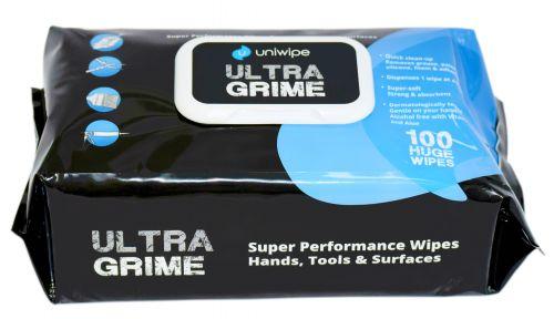 Uniwipe Ultragrime Huge Wipes (100) 5900