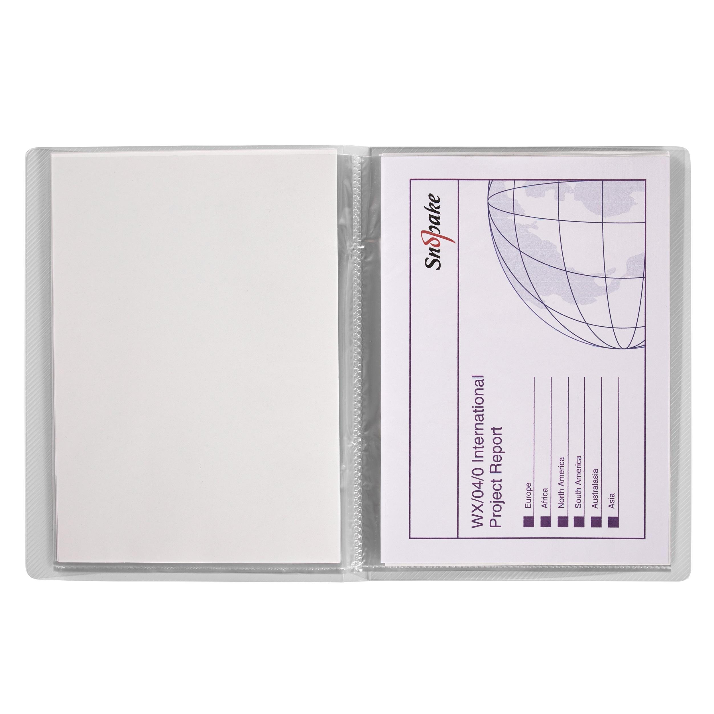 Display Book 20 Pockets A5 CLR