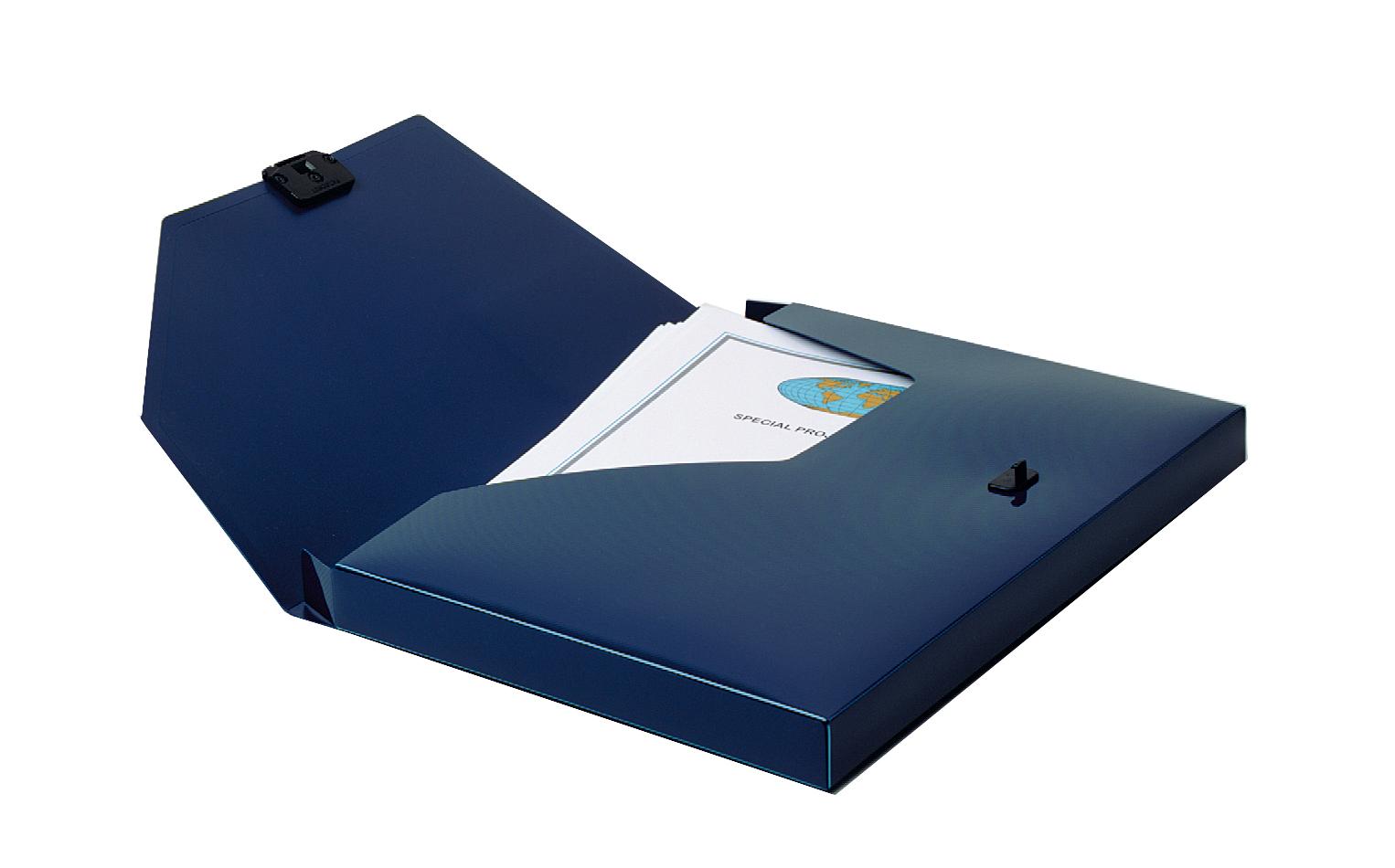 Box Files Snopake DocBox A4 25mm Blue