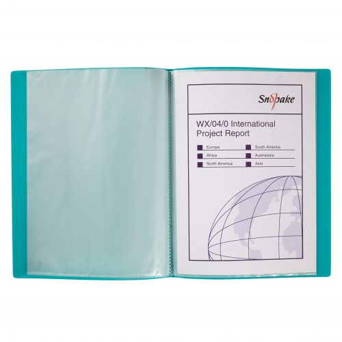 Snopake Display Book 10 Pockets A4 Electra Astd PK10