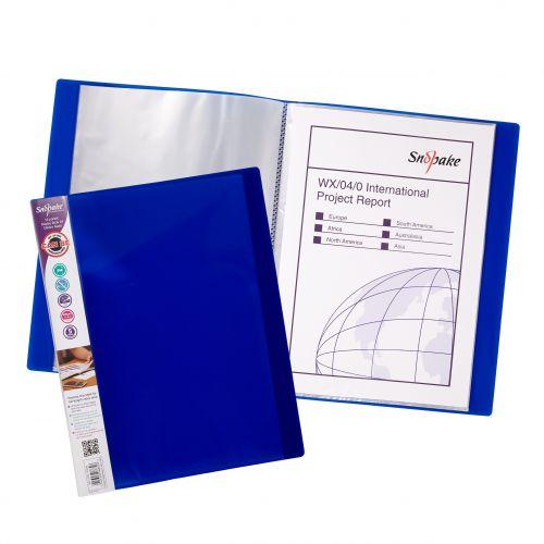 Snopake Display Book 16 Pockets A4 Electra Astd PK10