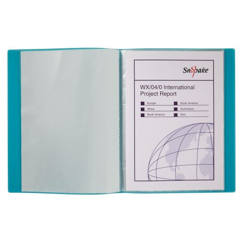 Snopake Display Book 24 Pockets A4 Electra Astd PK10