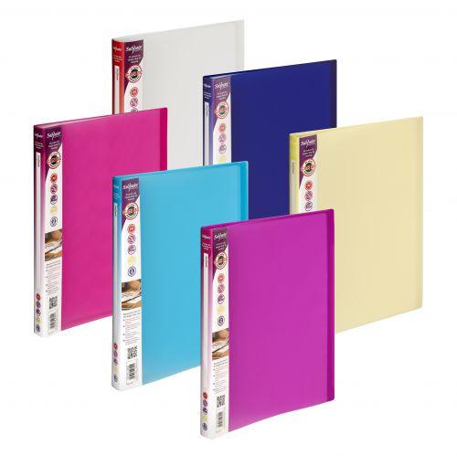 Snopake Lite Display Book 40 Pockets A4 Astd PK12