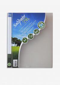 Snopake Bio2 Ring Binder Biodegradable Polypropylene 2 O-Ring Size 25mm A4 Clear Ref 15431 [Pack 10]