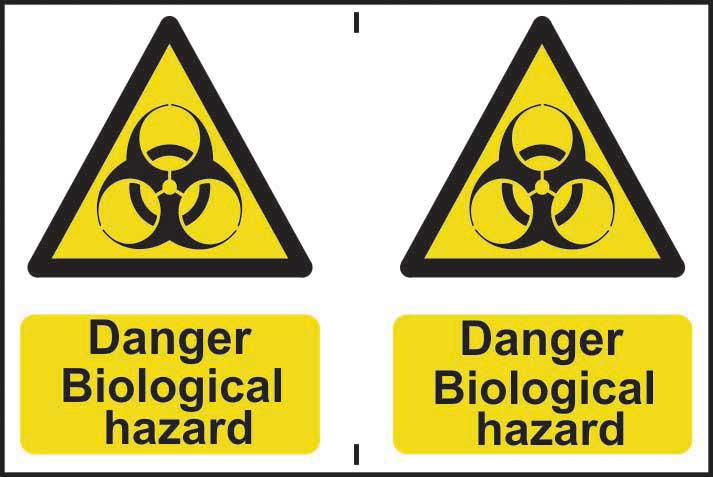 Danger biological hazard Sign
