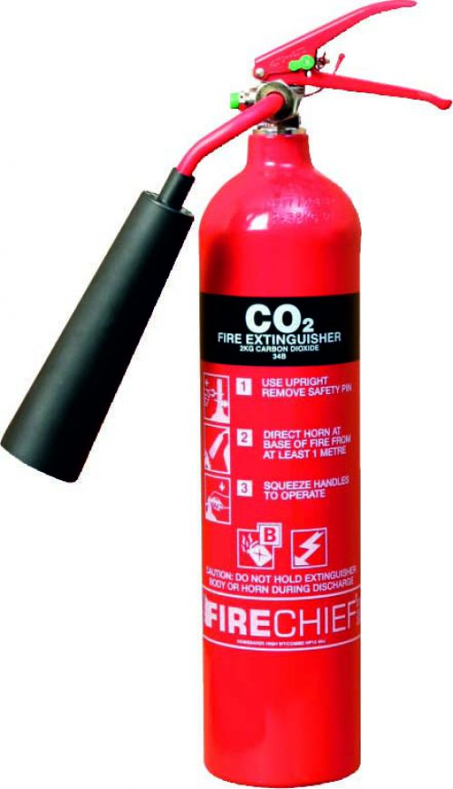 Fire Extinguisher - CO2 2kgs