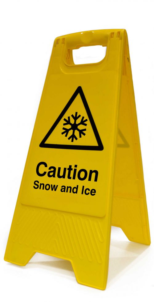 Spectrum H/Duty A Brd-Caution Snow & Ice