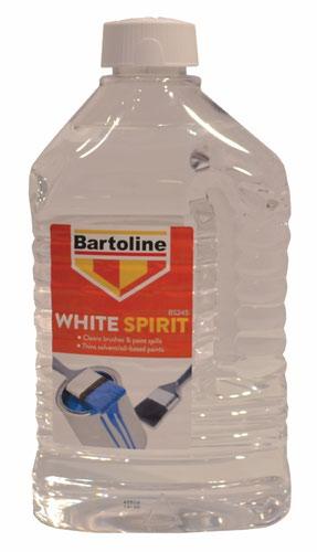 Bartoline 2ltr Flask White Spirit BS.245 (DGN)