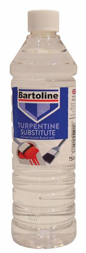 Bartoline 750ml Bottle Turpentine Substitute (DGN)