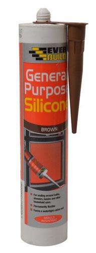 EverBuild General Purpose Silicone - Brown