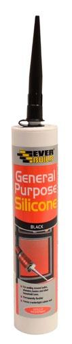EverBuild General Purpose Silicone - Black