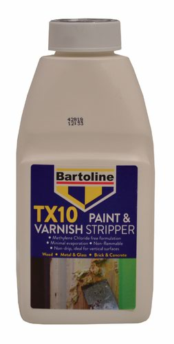 Bartoline 500ml TX10 Paint & Varnish Stripper
