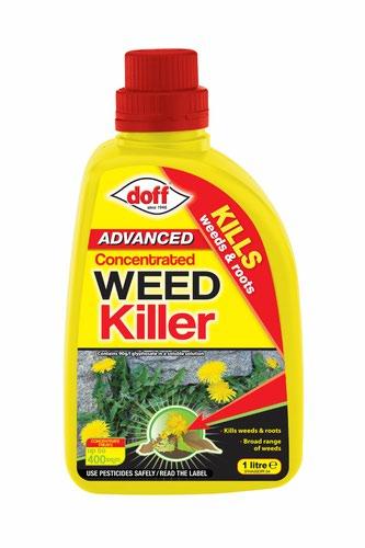 Doff Weedkiller Concentrate - 1 Litre