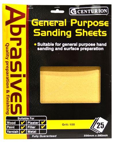 1 1/2 Abrasive Sandpaper (pack of 25)