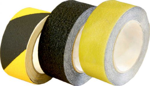 75mmx18.2m Black & Yellow Anti Slip Tape