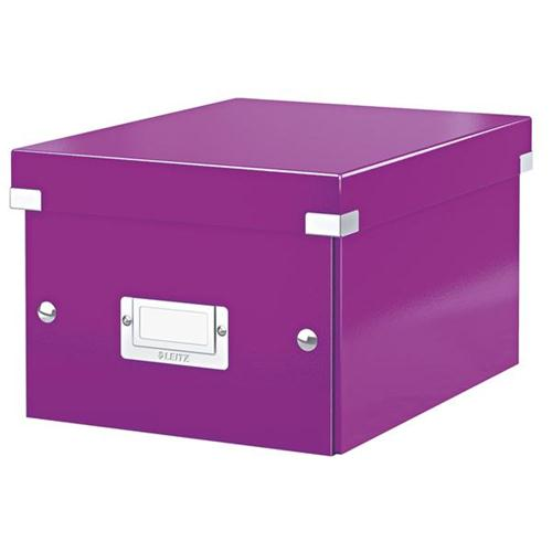 Leitz WOW C&S A5 Box Purp 3for2 Jul6/15