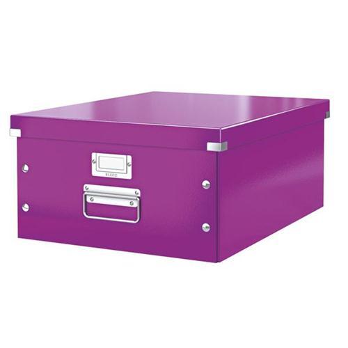 Leitz Box C&S Large Purp 3for2 Jul6/15