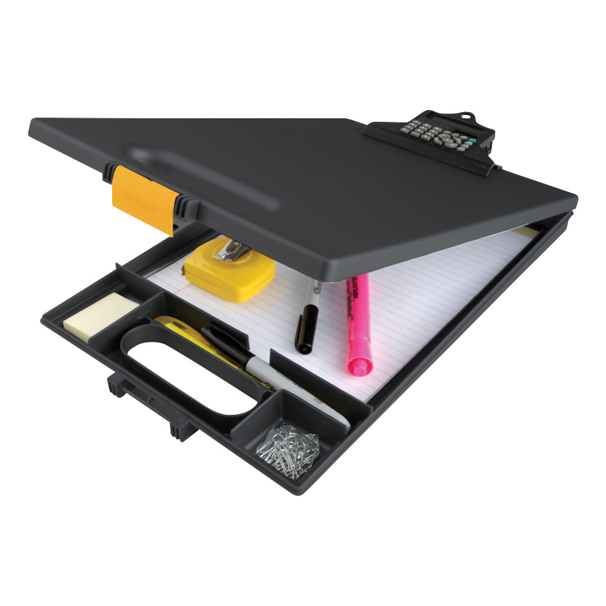 Clipcase Clipboard with Calculator A4 Black