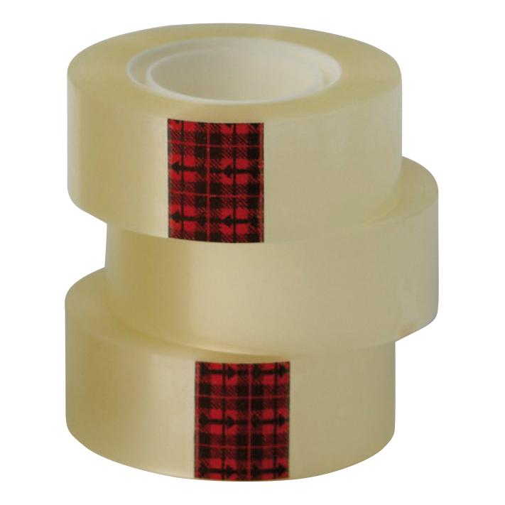 Scotch Easy Tear Transparent Tape 25mmx66m Ref ET2566T6 [Pack 6] [3 for 2] Jan-Dec 2018