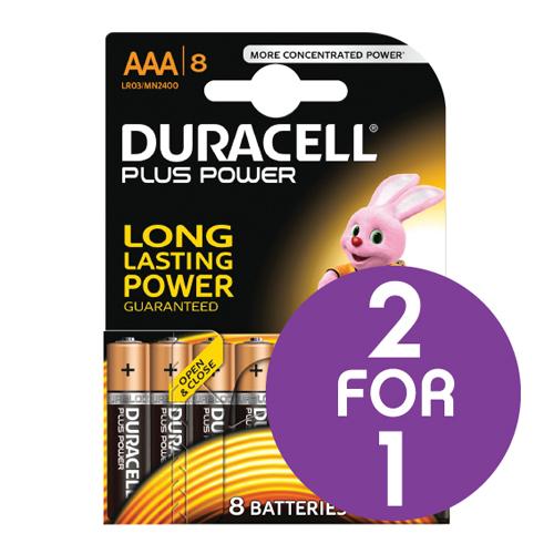 BP Duracell BatteryAAA Pk8 BOGOF Jan1/16