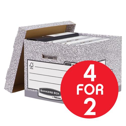 BP BankersBox Standard Box 4for2 Mar1/16