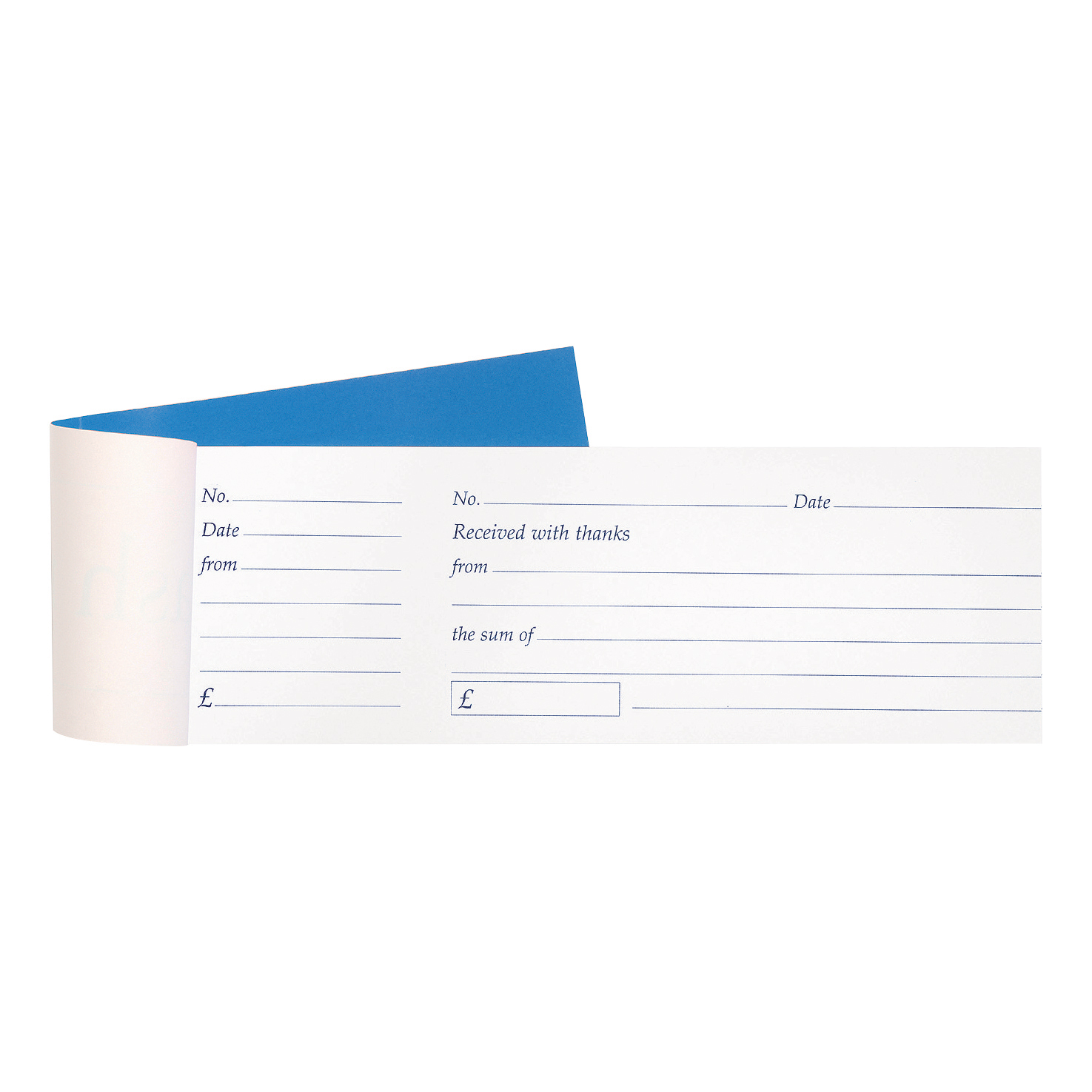 Image for Cash Receipt Book Tear Off 80 Receipts