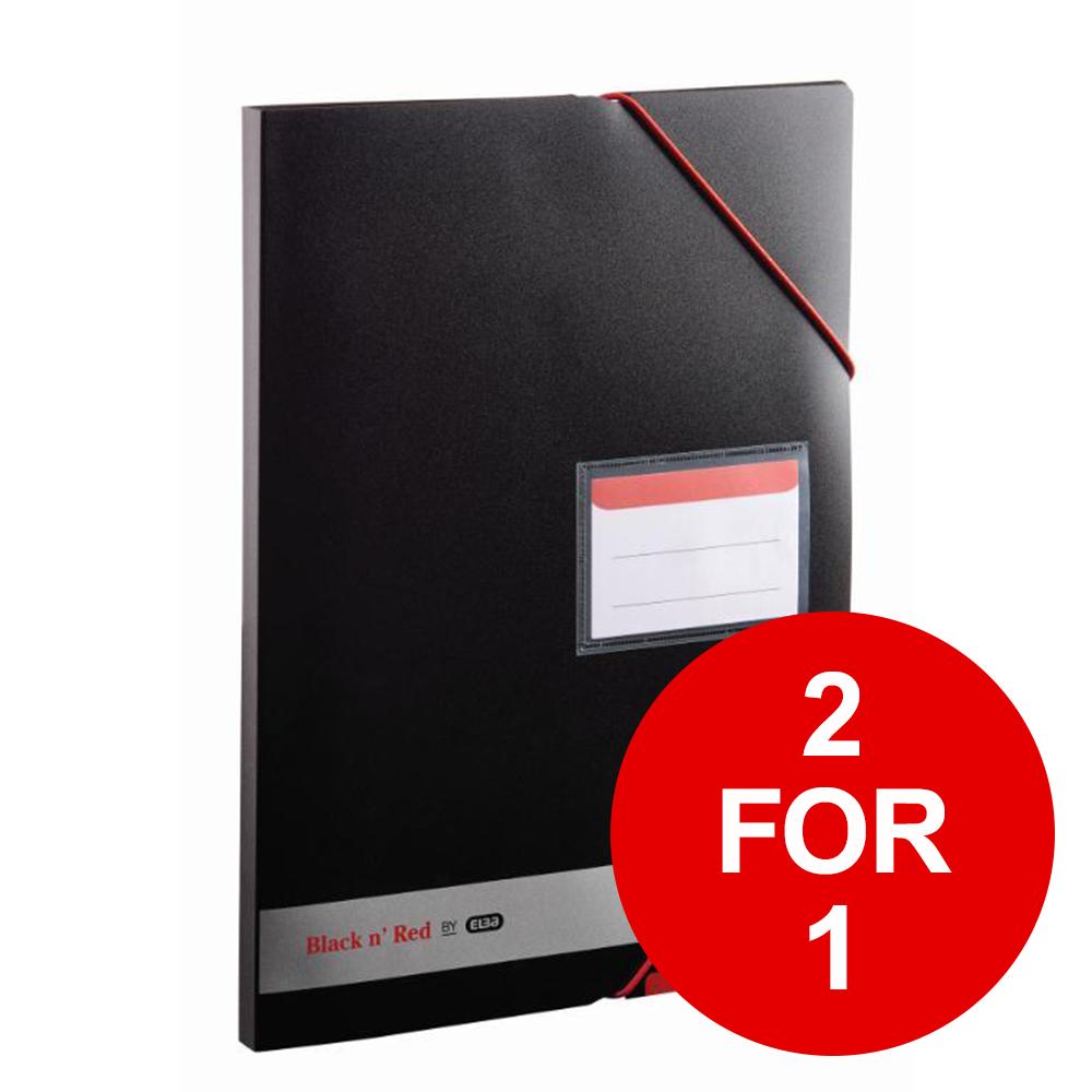Black N Red Display Book Ref 400050725 [2 For 1] Jan-Dec 2019