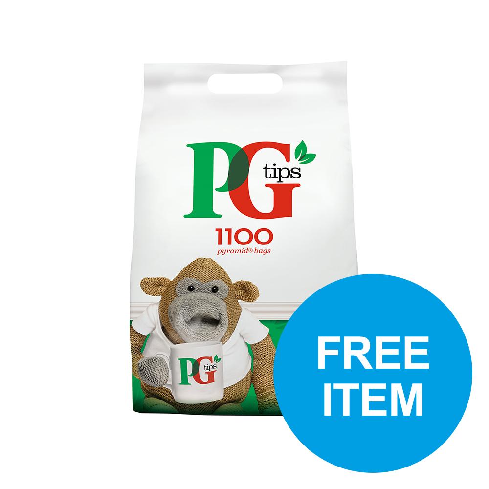 PG Tips Tea Pyramid 1 Cup Ref 67395661 [Pack 1100] [Buy 2 get 2 Free Elizabeth Shaw Biscuits] Oct-Dec 19